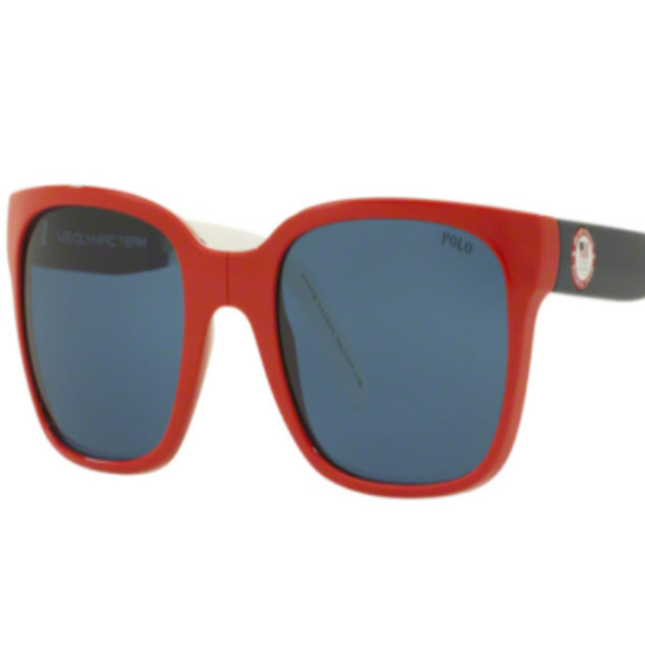 POLO Other - NWT Polo PH 4111 559480 Shiny Red Sunglasses